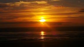 Weston super mare sunset Stock Photos