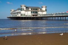 Weston-super-Mare tusen dollarpir royaltyfria bilder