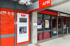 Westpac Bank branch Royalty Free Stock Image