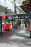Westpac banka biuro w Melbourne, Australia Obraz Royalty Free
