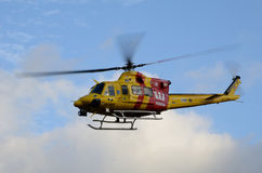 Westpac Rescue Helicopter Royalty Free Stock Photography