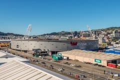 Westpac Stadium, Wellington Fotos de Stock Royalty Free
