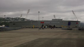 Westpac trust Stadium. In central wellington is one of the major sport stadiums servicing the wellington area Royalty Free Stock Image