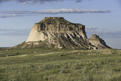 Westpawnee Butte in nordöstlichem Colorado Lizenzfreie Stockbilder