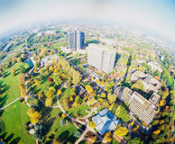 Westphalia Park Florian tower Dortmund Germany Royalty Free Stock Photography