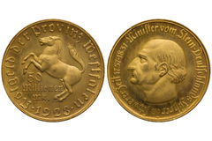 Westphalia token Stock Images