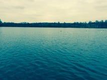 Westport湖升火在特伦特 库存照片