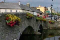 Westport. Old bridge and street in Westport, West Ireland Royalty Free Stock Images