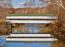 Westport Covered Bridge Royalty Free Stock Photos