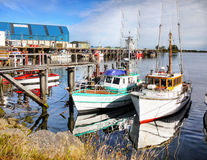 Westport, Harbour, West Coast, New Zealand. Westport town - Harbour view. The West Coast region. South Island, New Zealand royalty free stock image