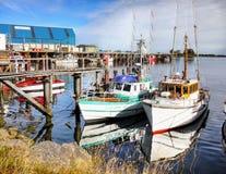 Westport, Haven, Westkust, Nieuw Zeeland Royalty-vrije Stock Afbeelding