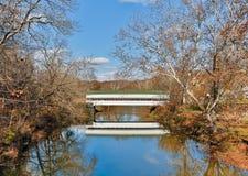 Westport, Indiana Covered Bridge royalty free stock photography
