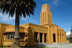Westport klockatorn Arkivfoto
