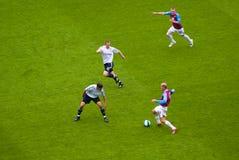 Westschinken gegen Derby-Grafschaft 19-04-2008 Stockbilder