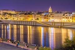 Westseite von Sevilla stockfoto