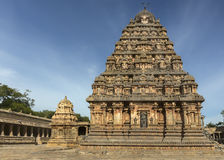 Westseite von Vimanam Lizenzfreies Stockfoto