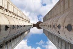 Weststadttor von Belgrad mit blauem Himmel 3 Stockbild