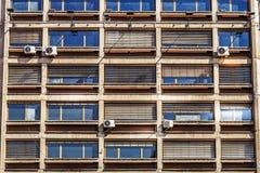 Weststadttor von Belgrad, mit vielen Fenstern Stockfotografie