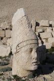 Westterrasse vom Nemrut, die Türkei Lizenzfreies Stockbild
