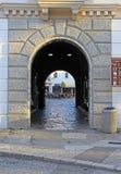 Westtor der alten Stadt in Trebinje Stockbild