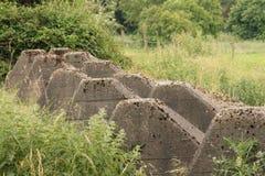 Westwall/齐格菲线WW2德国 库存照片