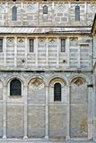 Westwand, Pisa-Kathedrale, Italien Stockfotografie