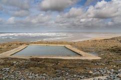 Westward Ho!. The beach resort of Westward Ho! in Devon , England, UK Royalty Free Stock Image