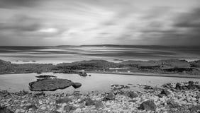 Westward Ho!. The beach resort of Westward Ho! in Devon , England, UK Royalty Free Stock Images