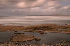 Westward Ho!. The beach resort of Westward Ho! in Devon , England, UK Stock Photo