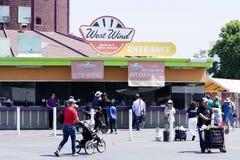 Westwind-Kapitol-Flohmarkt Lizenzfreies Stockbild