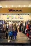Westwood shop in hong kong Stock Image