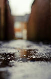 Wet Alley Stock Photography
