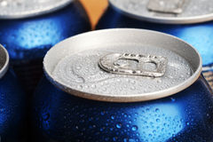 Wet aluminium can Royalty Free Stock Photography