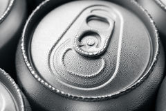 Wet aluminium can Royalty Free Stock Images