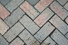 Pavement tiles background Stock Photography