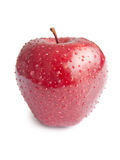 Wet apple Stock Images
