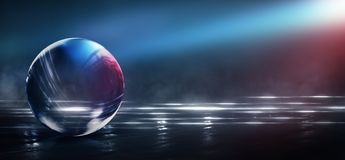 Abstract,art,astronomy,background,ball,black,blue,bright,city,color,colorful,colors,cosmos,crystal,dark,design,earth,fantasy,galax. Wet asphalt, reflection of royalty free illustration