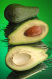 Wet Avocado #2 Stock Images