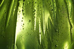 Wet background with drops Stock Photo