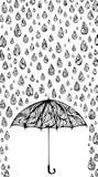 Wet background. Royalty Free Stock Photo