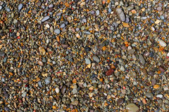 Wet Beach Pebble Royalty Free Stock Photography