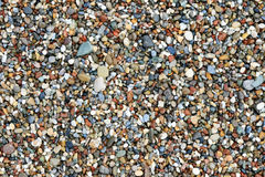 Wet Beach Pebbles Stock Photo