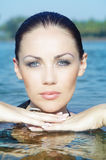 Wet beauty Stock Photo