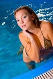 Wet Beauty Stock Image