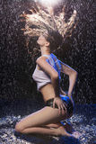 Wet beauty. Royalty Free Stock Photo