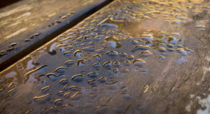 Wet bench Stock Image