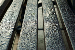 Wet bench Stock Photo