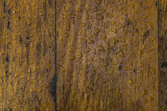 Wet boards background Stock Photography