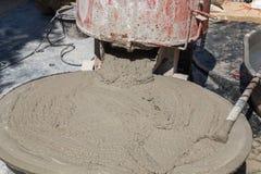 Wet cement Stock Photos