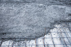 Wet cement Royalty Free Stock Photos